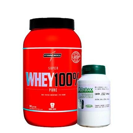 Whey 100% Pure 907g + Dilatex 152caps