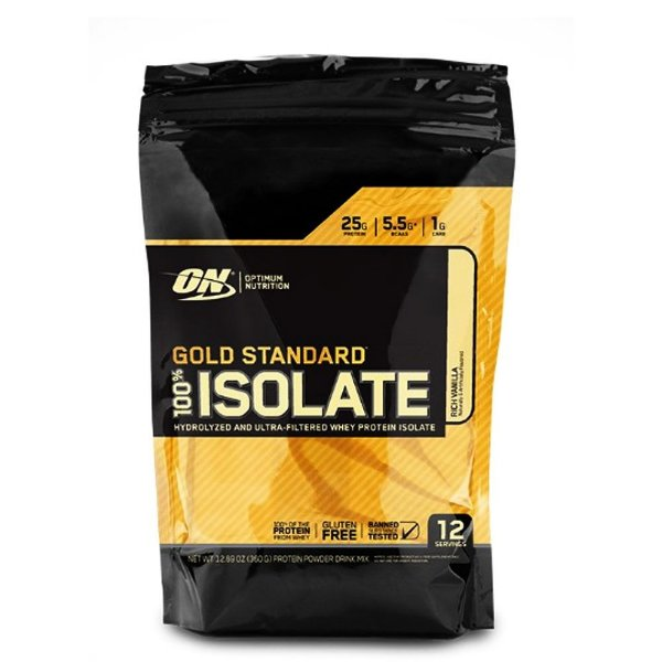 Whey Gold Isolante 360g Optimum Nutrition