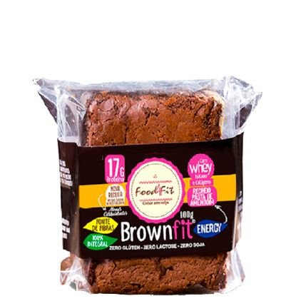 Brown Fit Energy 100g Food4Fit