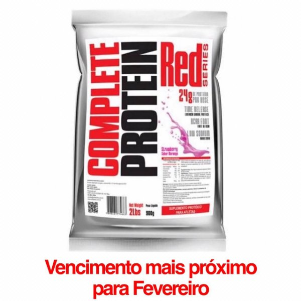 Combo 3unidades de Complete Protein 900g Red Series