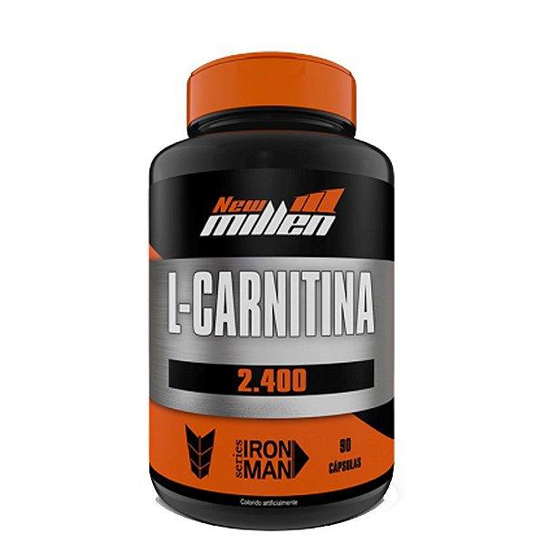 L-carnitina 2.400 90caps New Millen