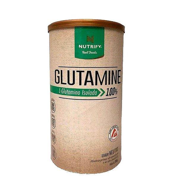 Glutamina 100% Isolada 500g Nutrify