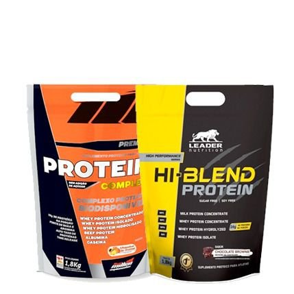 Combo Protein Complex 1,8Kg + Hi Blend Protein 1,8kg
