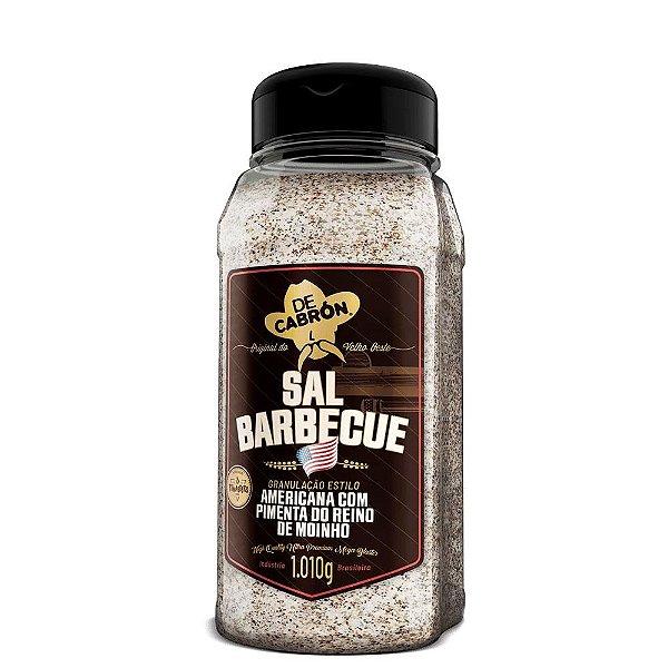 Sal Barbecue Americano Com Pimenta do Reino 1,010g De Cabron