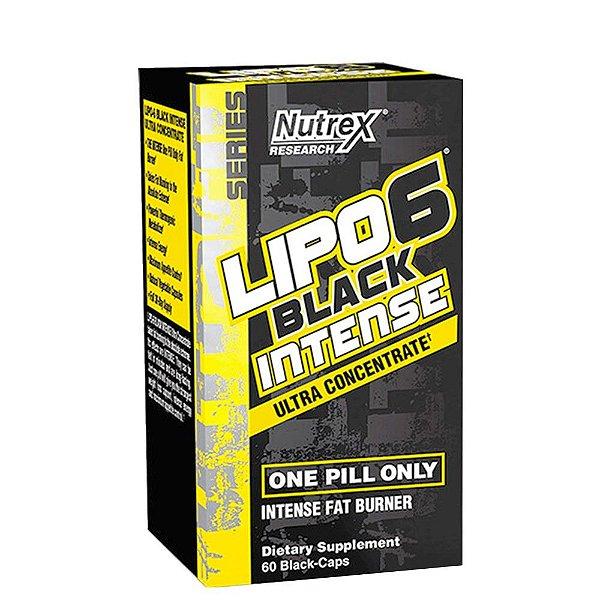 Lipo 6 Black Intense 120Caps Nutrex