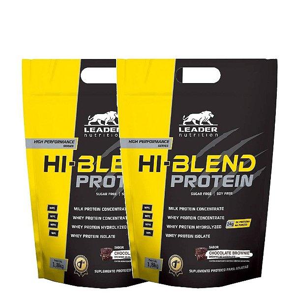 Kit 2 Hi Blend Protein 1,8kg Leader Nutrition