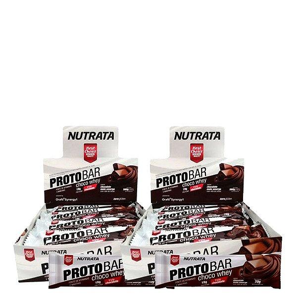 Kit 2 Caixas Protobar Nutrata (Cada Cx c/ 8 unidades)