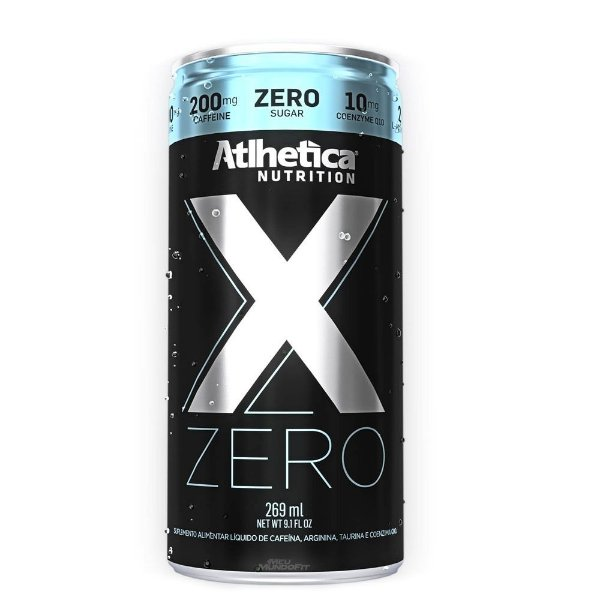 X Zero Lata 269ml Atlhetica Nutrition