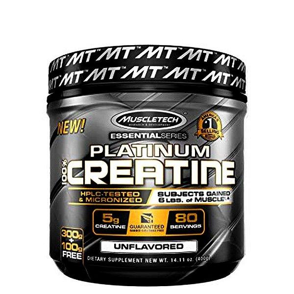 Platinum Creatine 400g Muscletech