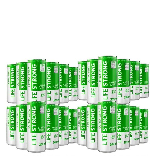 Kit 24 Un Life Strong 269ml Energy Drink