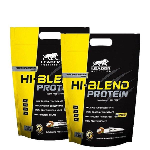 Kit 2 Unid Hi-Blend Protein 1,8kg Leader Nutrition