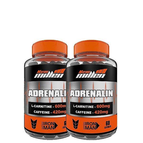 Kit 2 Unid Adrenalin 60Caps New Millen