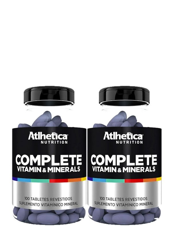 Kit 2x Complete Multi Vit - 100 Tabletes - Atlhetica