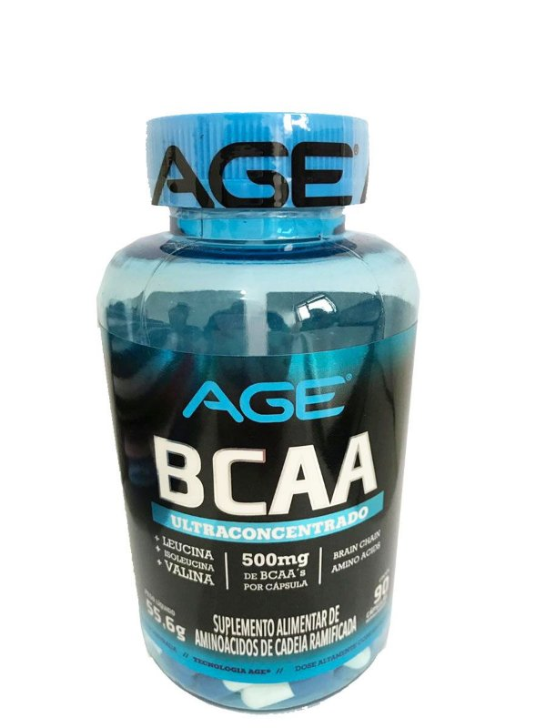 Bcaa Ultraconcentrado 500mg (90 cápsulas) Age