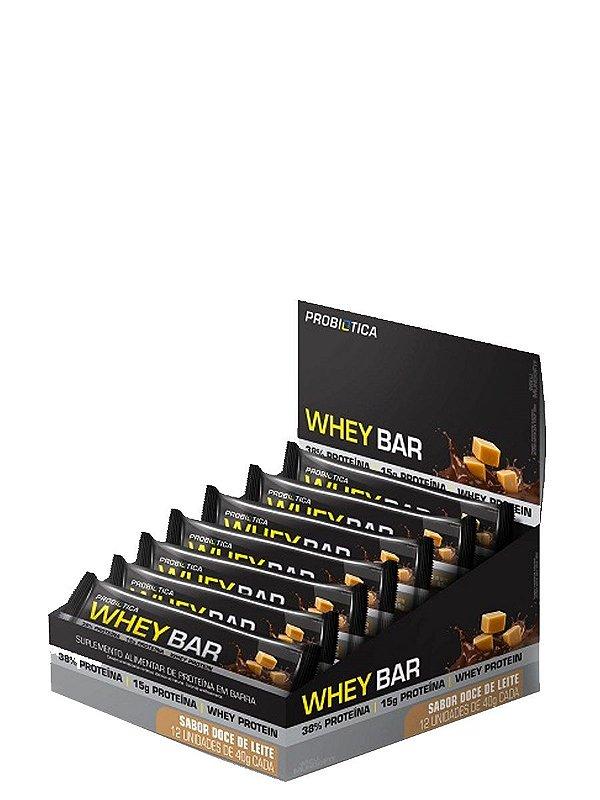 Whey Bar (Caixa com 12 Unidades de 40g) - Probiótica