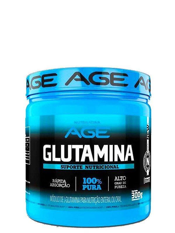 Glutamina 300g 100% Pura  Age