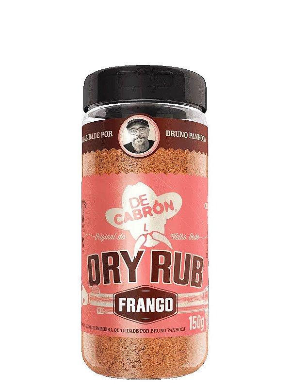 Dry Rub Frango (Bruno Panhoca) 150g De Cabrón