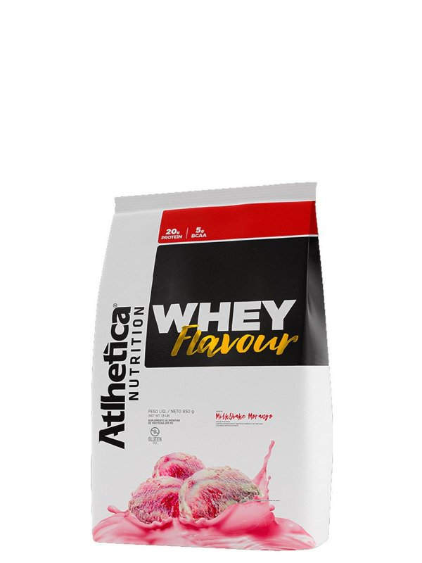 Whey Protein Flavor 850g Atlhetica Nutrition