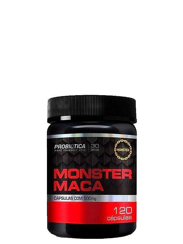Monster Maca Peruana 120 Cápsulas Probiotica