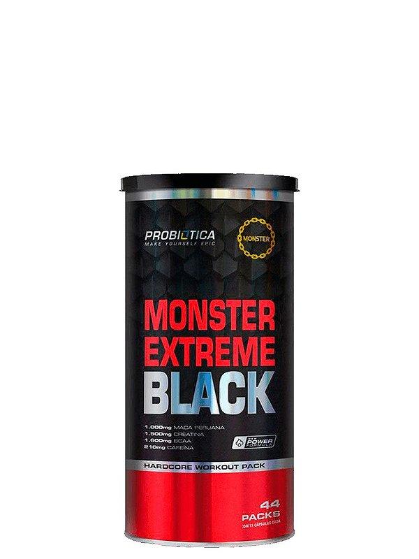Monster Extreme Black (44 Packs) Probiótica
