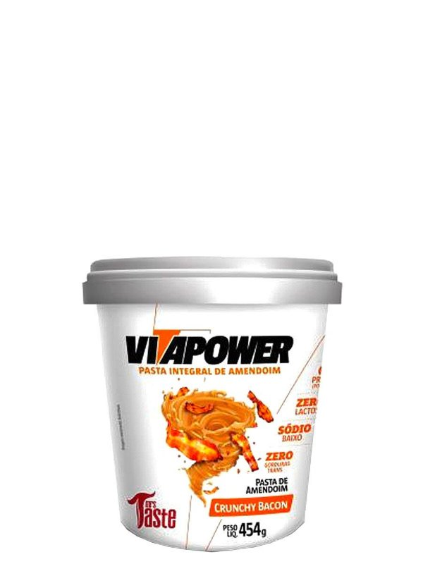 Pasta de Amendoim 454g Vitapower