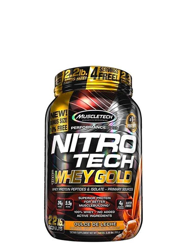 Nitro Tech 100% Whey Gold 999g Muscletech