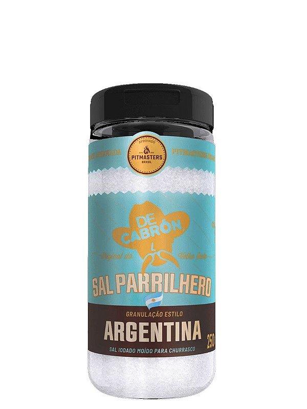 Sal Parrilhero Argentino 250g De Cabrón