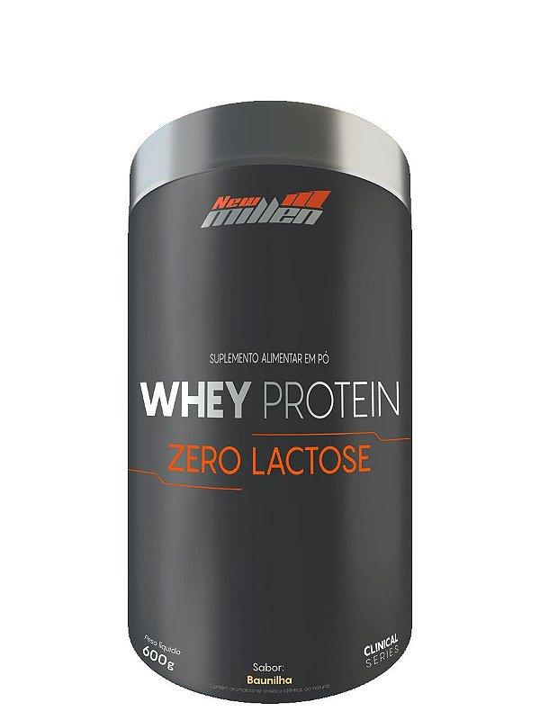 Whey Protein Zero Lactose 600g New Millen