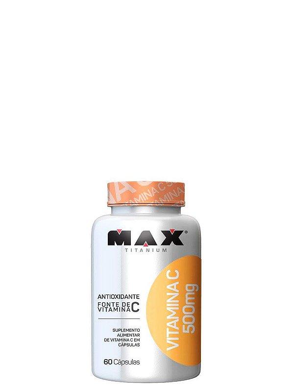 Vitamina C 500mg 60 caps Max Titanium