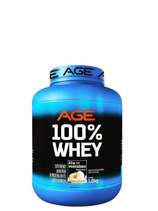 100% Whey 1,8kg - Age