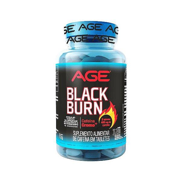 Termogênico Black Burn 120 tabletes Age