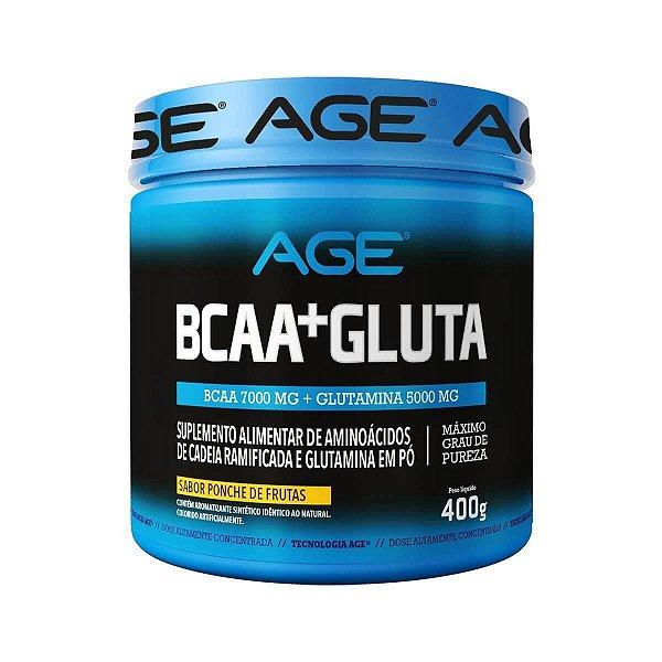 BCAA + Glutamina 400g Age