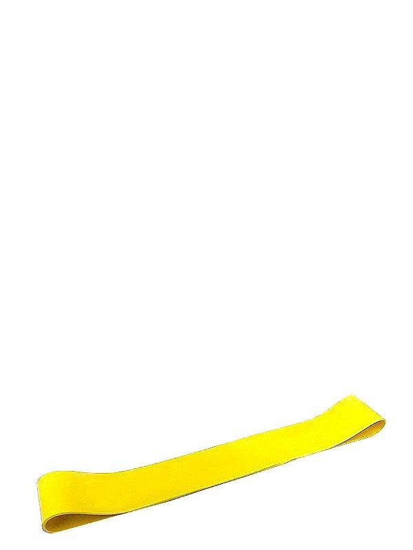 Faixa Elástica para Exercícios Rubber Band Tensão Leve 2mm