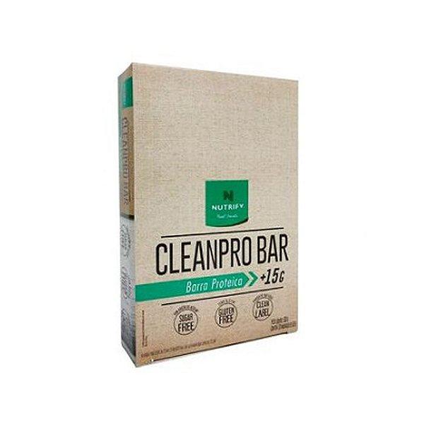 CleanPro Bar 50g (Caixa com 10 Unidade) Nutrify