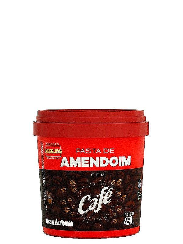 Pasta de Amendoim Com Café 450g Mandubim