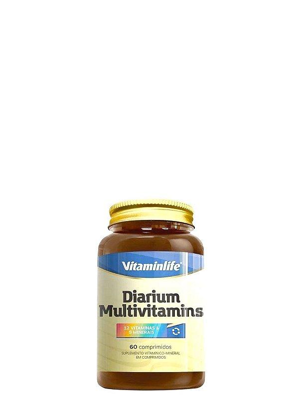 Suplemento Polivitamínico Diarium Multivitamins 60 caps Vitaminlife