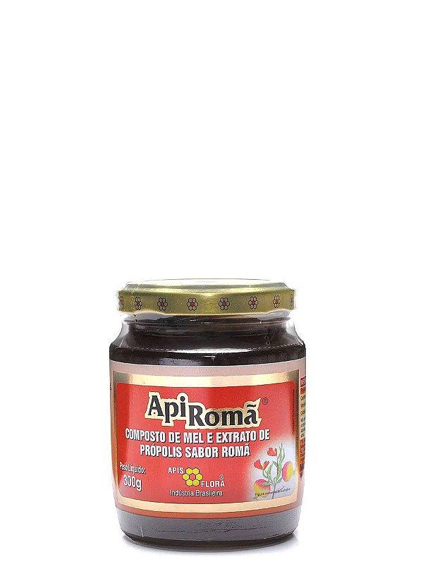 APIROMA - Mel com Própolis e Romã 300 G Apis Flora