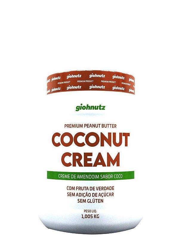 Creme de Amendoim COCONUT CREAM - 1kg  Giohnutz