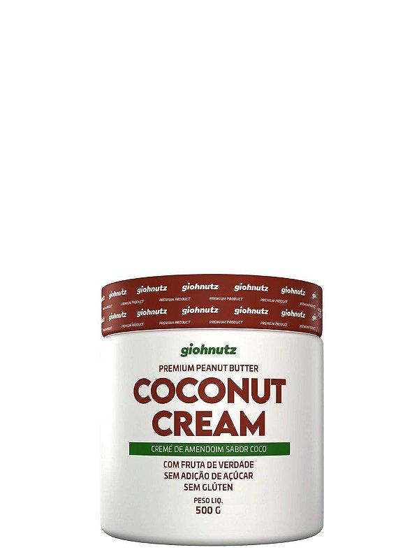 Creme de Amendoim Coconut Cream - 500gr Giohnutz