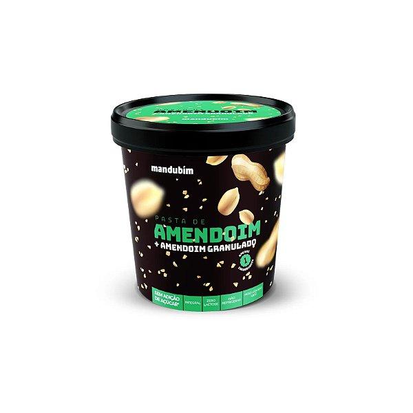 Pasta de Amendoim c/granulado 450g - Mandubim