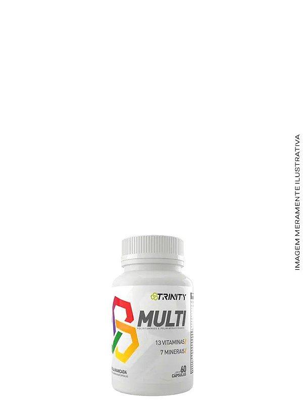 Multi- Multivitamínico 60caps - Trinity