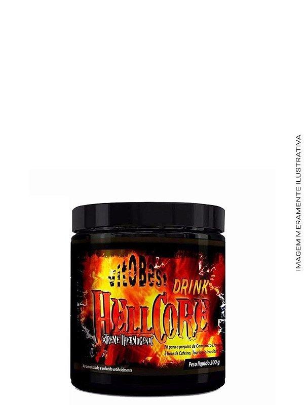 Hell Core Drink Termogênico 200g - Vitobest