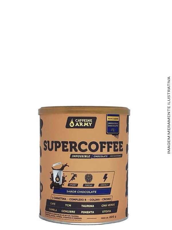 Supercoffee 220g Chocolate - Caffeine Army