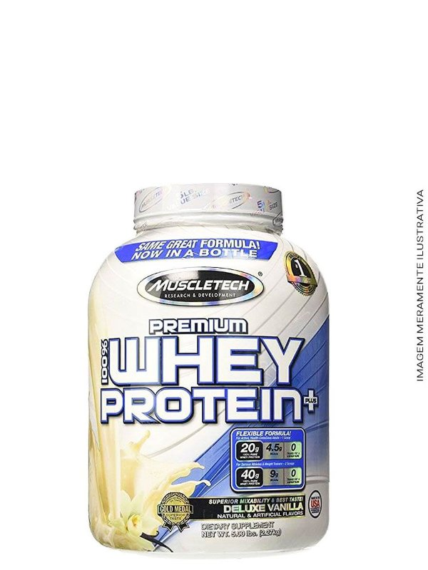 Whey Protein Premium 3W 2.270kg - Muscletech