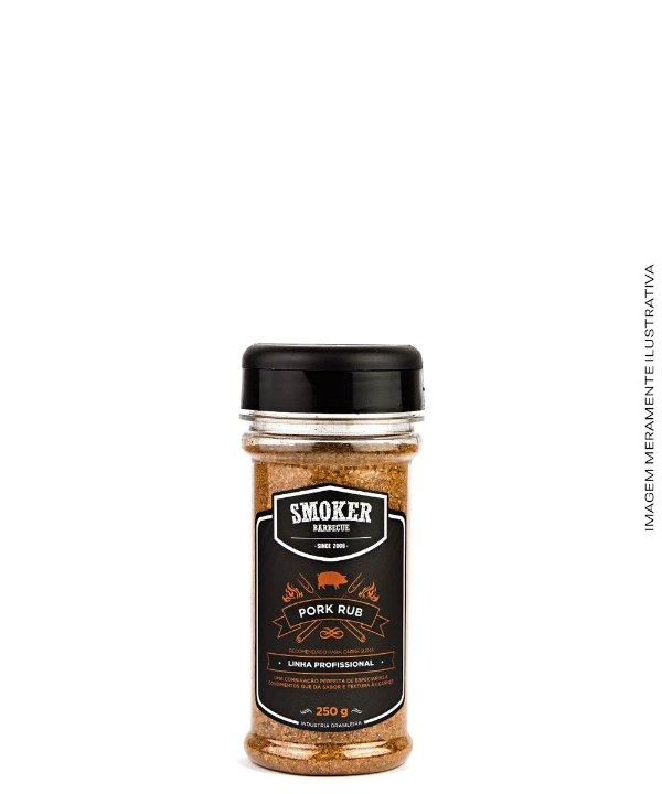 Dry Rub Pork Rub 250 g - CantaGallo
