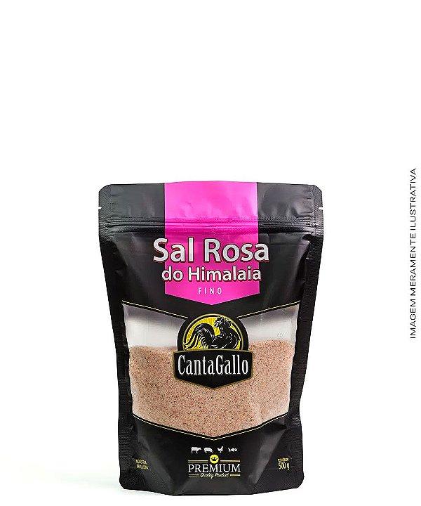 Sal Rosa do Himalaia Fino 500g - CantaGallo