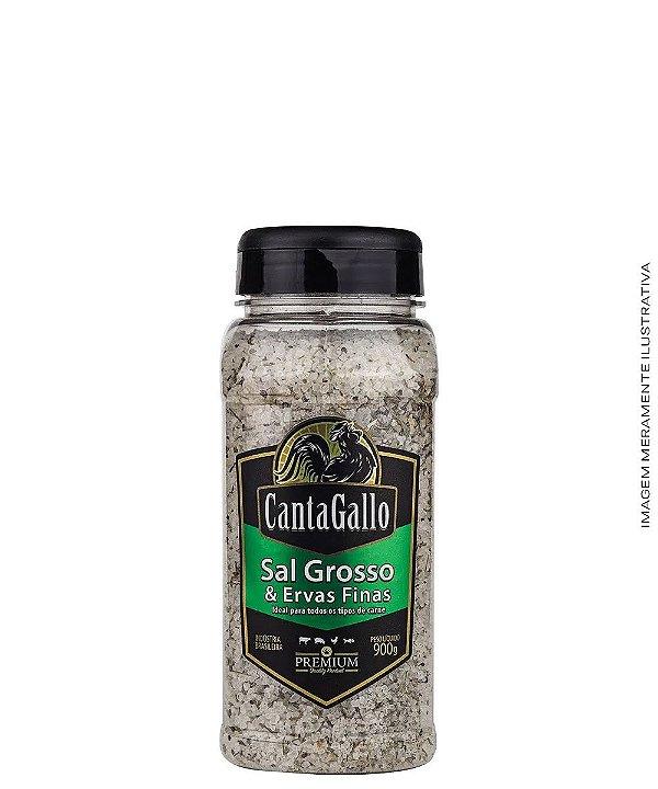 Sal Grosso & Ervas Finas 900g - CantaGallo
