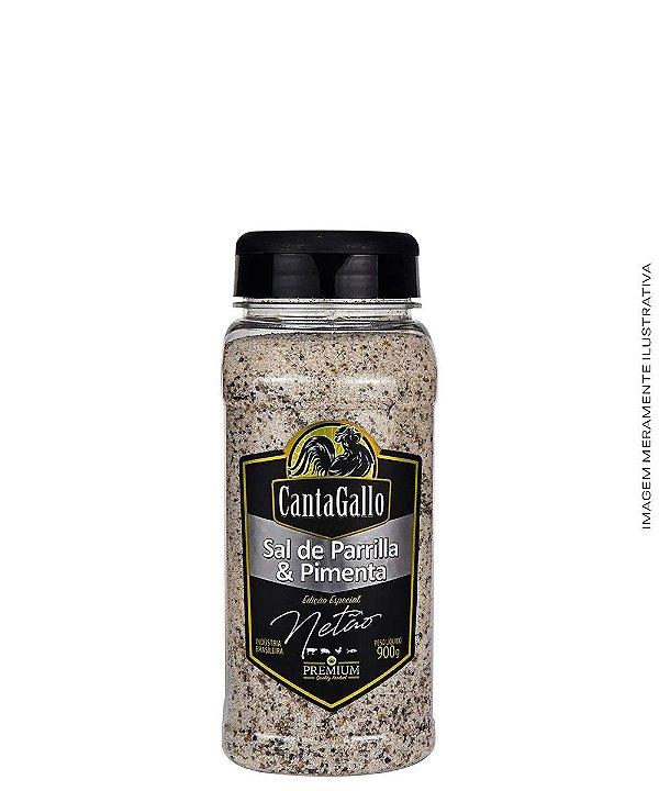 Sal de Parrilla & Pimenta Ed. Especial Netão 1kg - CantaGallo