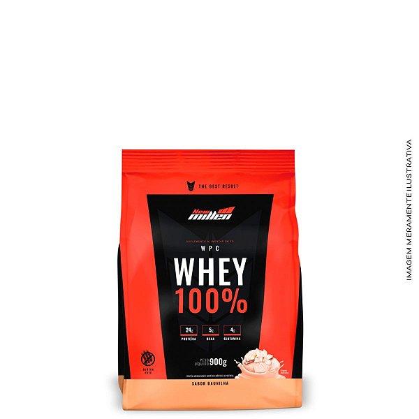Whey Protein 100% Concentrado (900g) Refil - New Millen