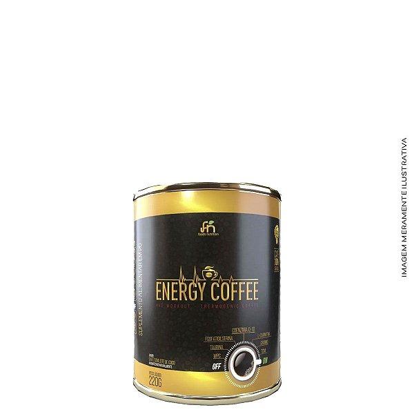 Termogênico Energy Coffee 220g - Foods Nutrition